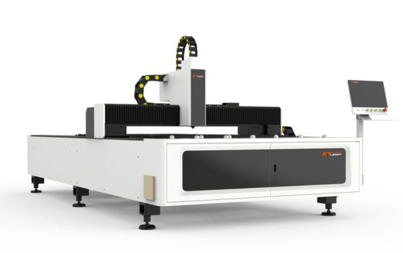 光纤激光切割机碳钢切割20MM