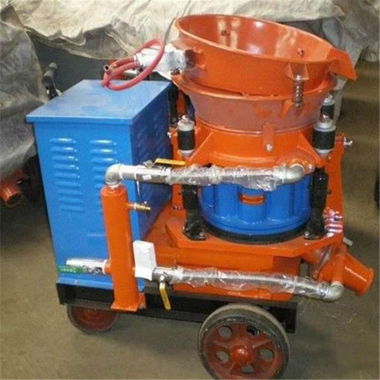HSP混凝土湿喷机 湿喷机转子总成 喷浆机橡胶密封板