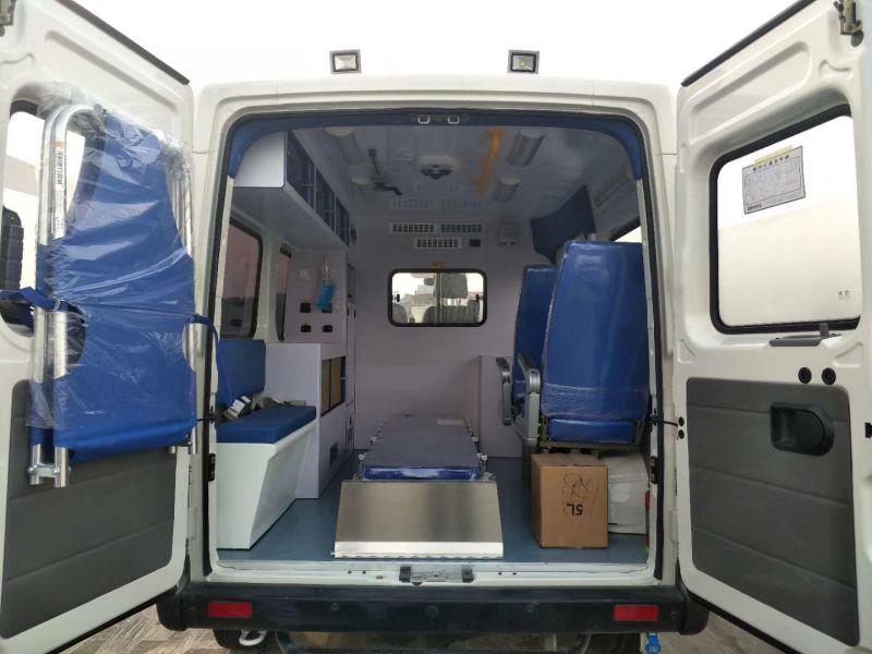 依维柯宝迪A32救护车4905×2000× 2500 矿山救援车8L