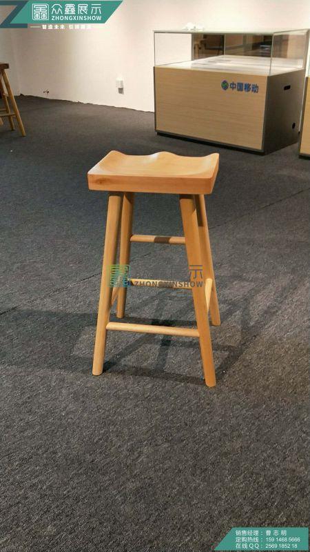 华为3.0木纹凳洽谈系列