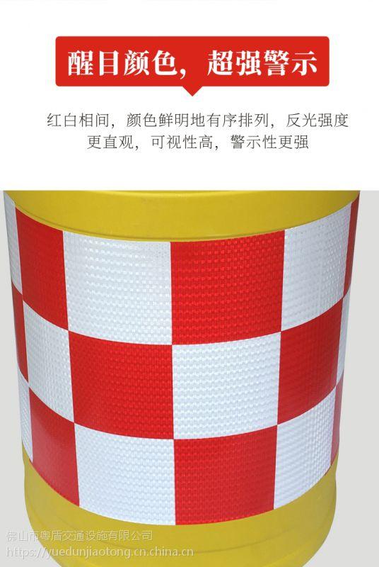 广东佛山厂家直销 粤盾交通吹塑防撞桶水马隔离墩灌水灌沙子(图6)