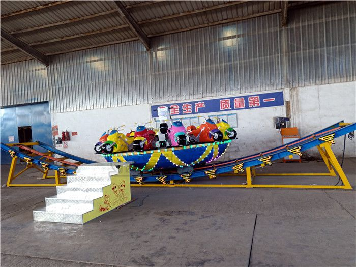 儿童神州飞碟,12座空中飞碟游乐设备
