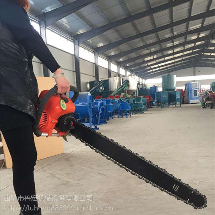 苗圃移苗机 单人操作链条式移树机 汽油断根挖树机