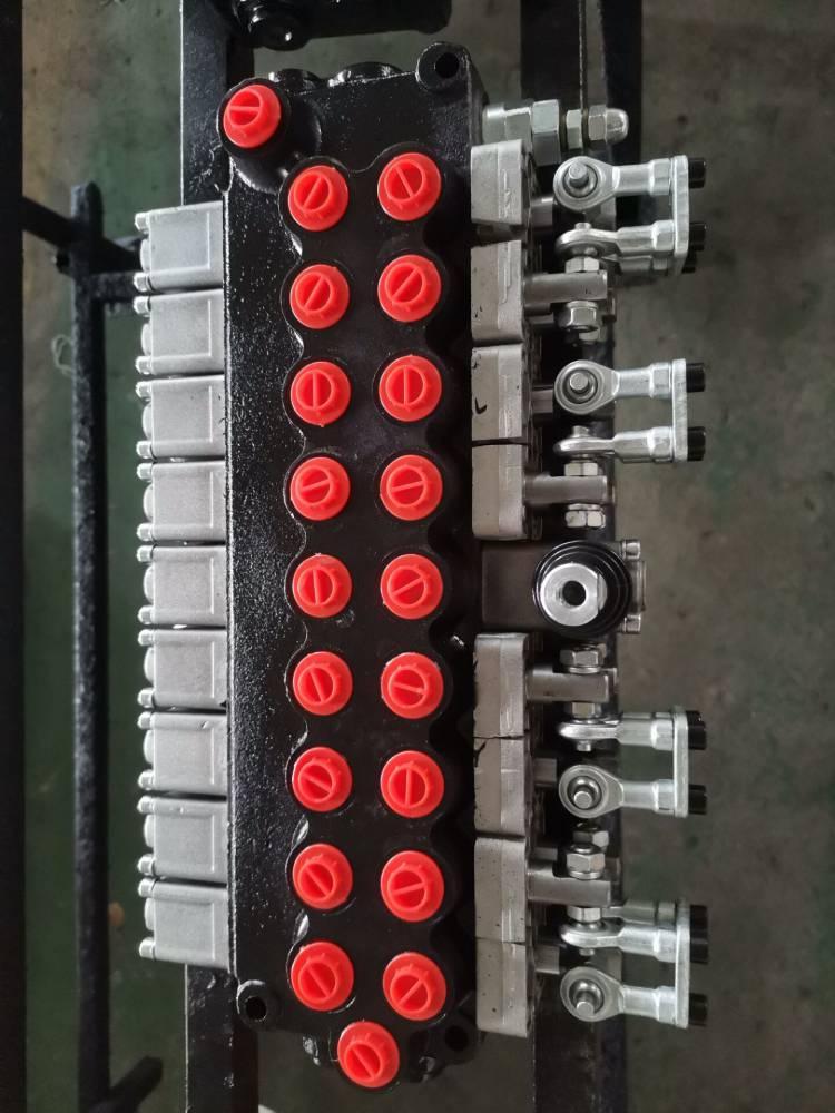 七路液压分配器ZT-L12E-OT-70流量50升DCV40-7OT,ZO3-L21F-2SH.OW