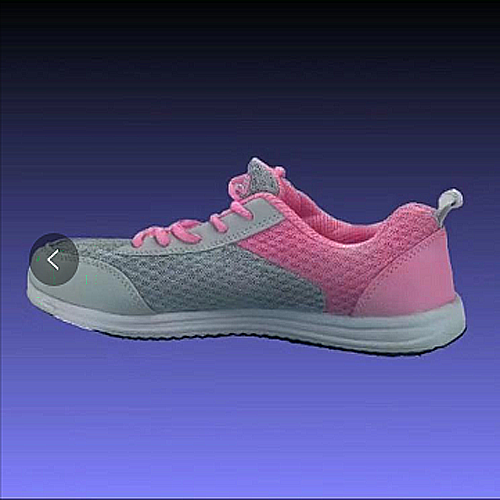 真彩色3d扫描仪扫描鞋履效果