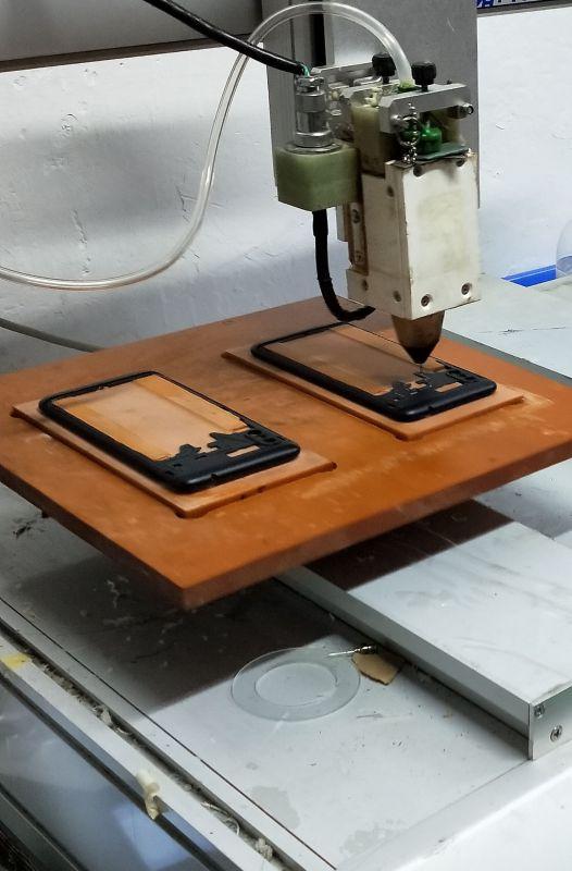手机壳点胶加工 点胶加工厂