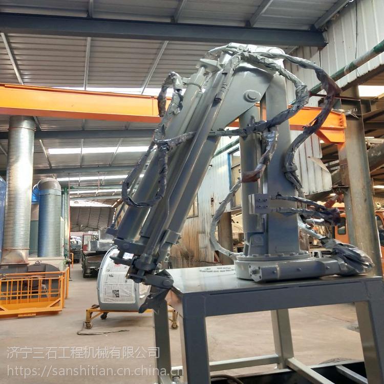 1.2吨折臂随车吊 全新设计国五标配折臂吊 直接安装货箱里面