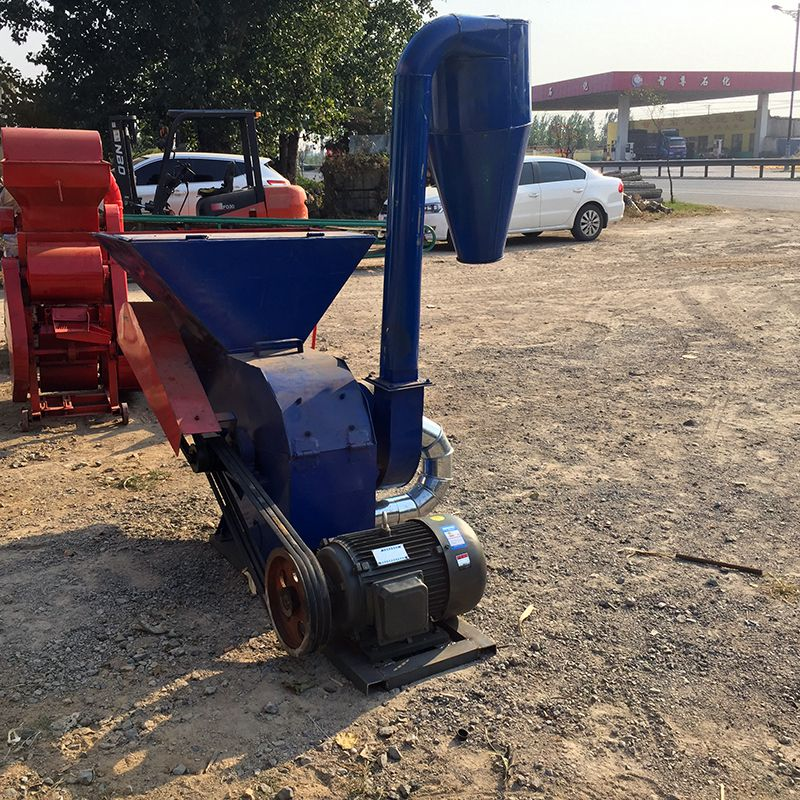 沙克龙粉碎机 玉米秸秆粉碎机 养殖场铡草机