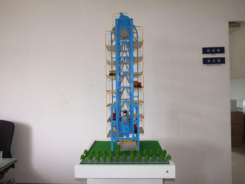 垂直循环立体车库模型定制
