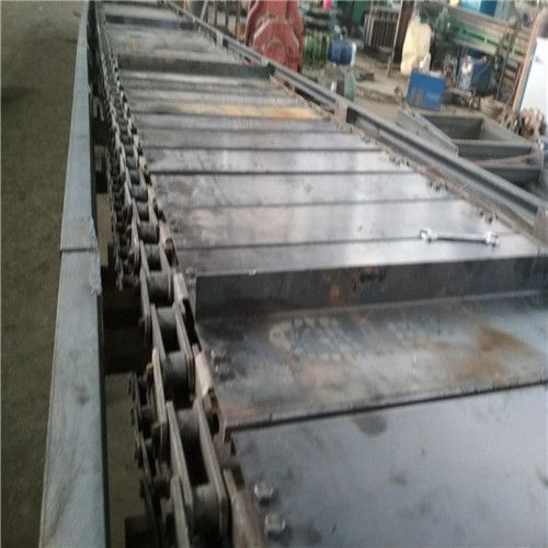 袋装物料板链输送机运输平稳 水平式链板输送机调试厂家直销湘潭