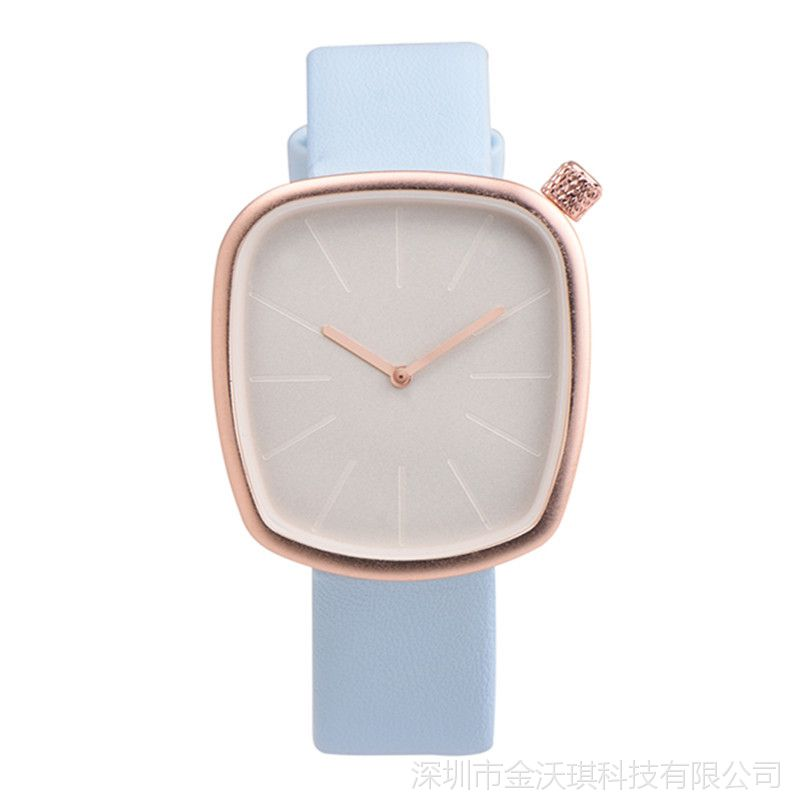 速卖通热卖 OKTIME欧美时尚防水不规则形状简约学生手表时装女表