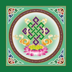 盛古装饰藏式PVC新款八宝古建寺庙吊顶彩绘天花吊顶材料/扣板天花