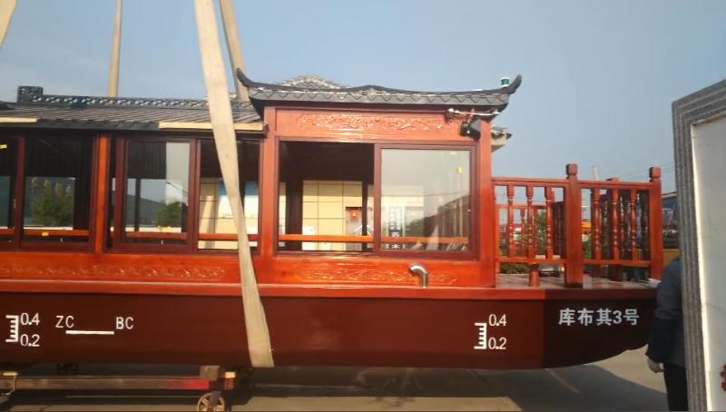 木船制造厂定制各种规格观光游船水上大型餐饮画舫船
