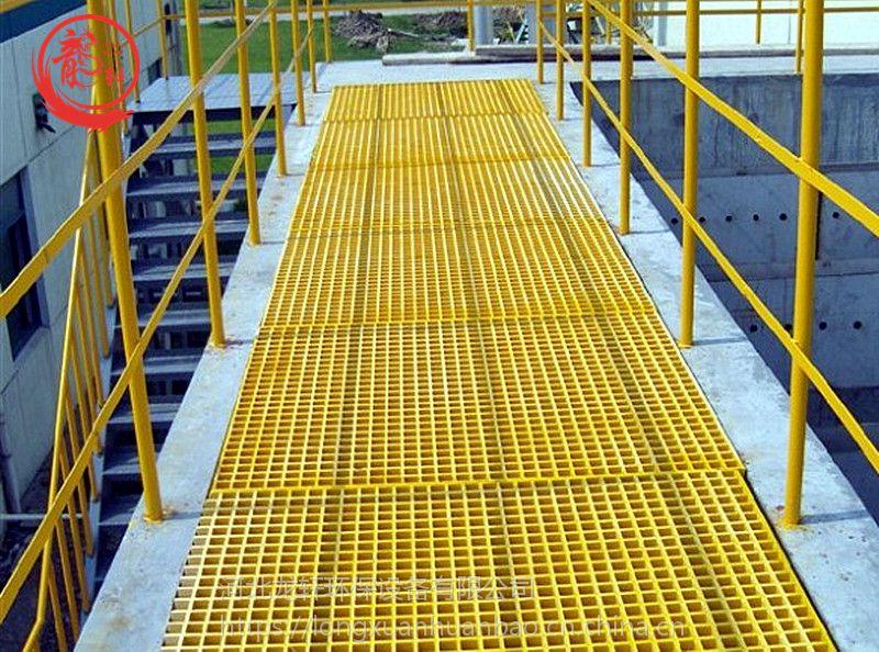 变电站专用绝缘玻璃钢格栅厂家——河北龙轩