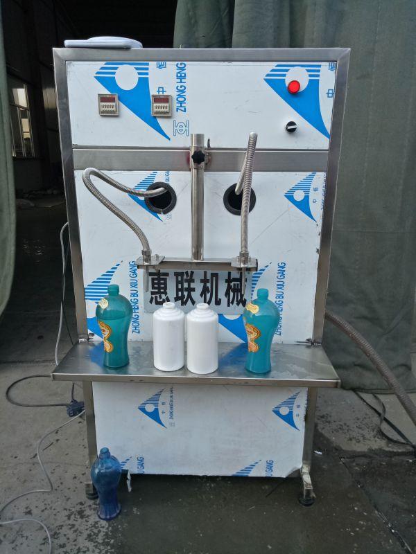 半自动白酒灌装机配制酒灌装机灌装白酒设备半自动直线液体灌装机