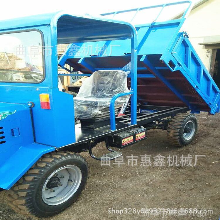 四驱毛竹专用四不像 乡村拉货柴油四轮车 加重加厚型四驱工程车
