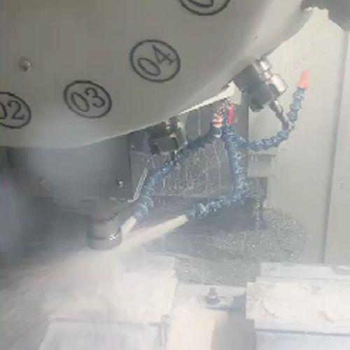 台捷T6钻攻中心加工视频展示