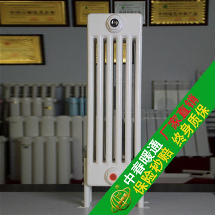钢制柱型圆六柱暖气片GZ609散热器制作过程