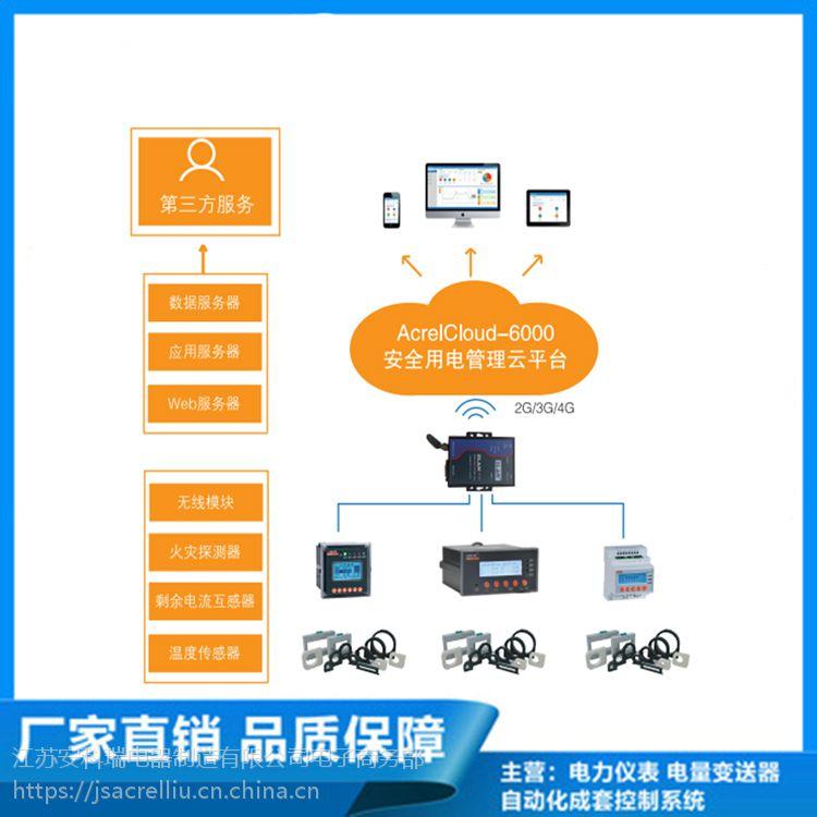 杭州富阳区推荐使用消防云平台安科瑞智慧用电管理系统Acrelcloud-6000