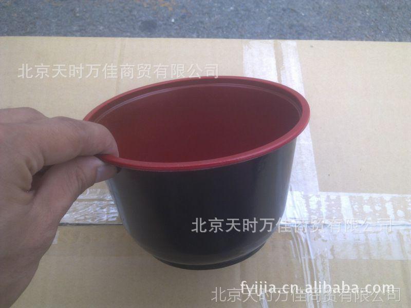 999pp_pp黑红塑料碗 汤碗 面碗 双色碗 红黑碗 360~999ml 600套装
