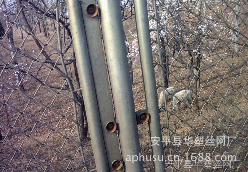 【设计按装】隔离铁丝网、隔离网、勾花网围栏、临时护栏、隔离网