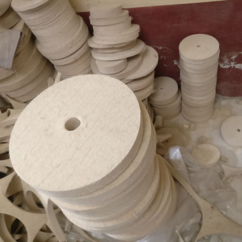 专业生产抛光毛毡轮 耐磨羊毛轮定做 优质抛光盘定做