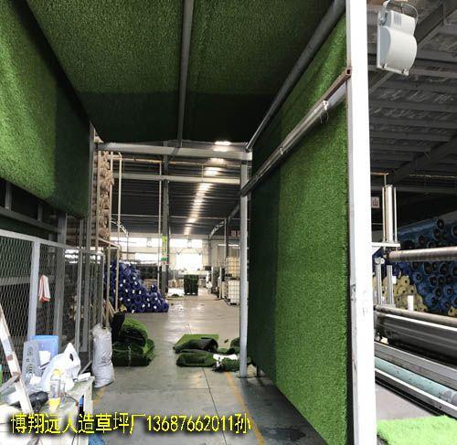 围墙塑胶人造草