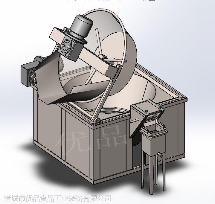 优品不锈钢麻花油炸机 新型麻花炸锅 电加热小型油炸机