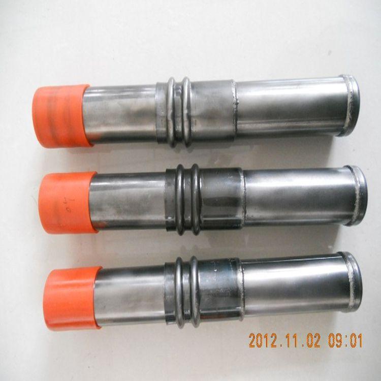 我公司专业生产螺旋式声测管、钳压式声测管、套筒声测管