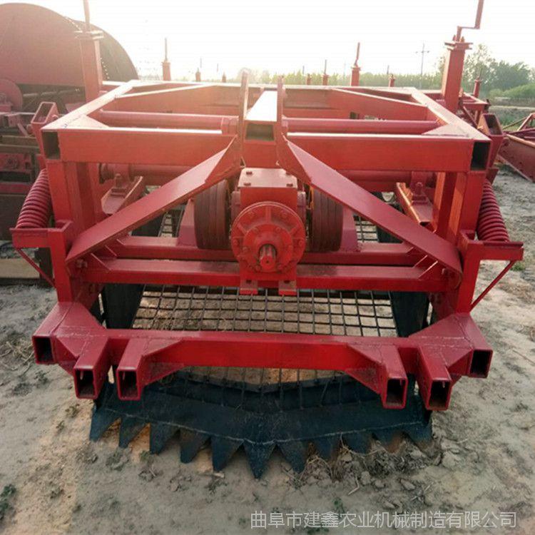 大型牛膝收获机根茎药材挖掘机链条黄芪挖掘机蒲公英收割机现货