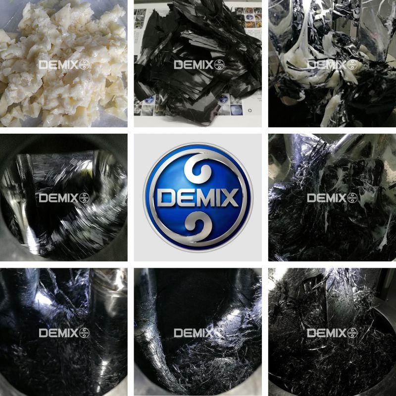 DEMIX立式捏合机-高粘树脂-短碳纤维