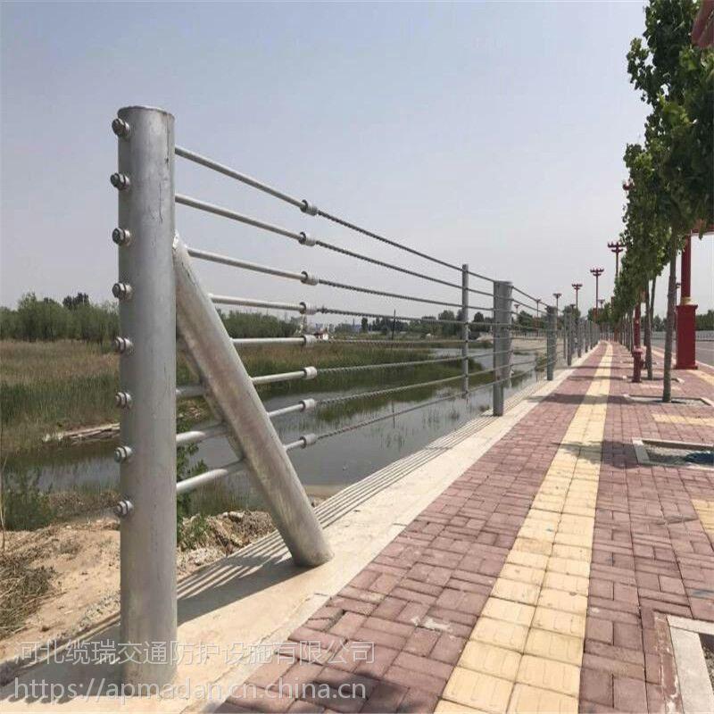 缆索护栏供应商 GC-A-7E护栏河北缆瑞