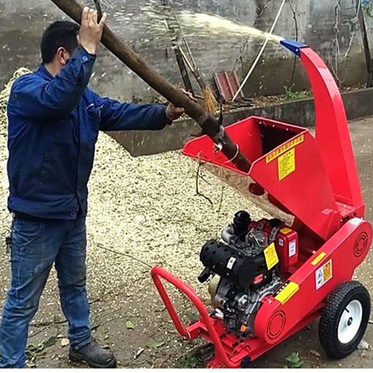 树枝粉碎机 树叶粉碎机 木头粉碎机