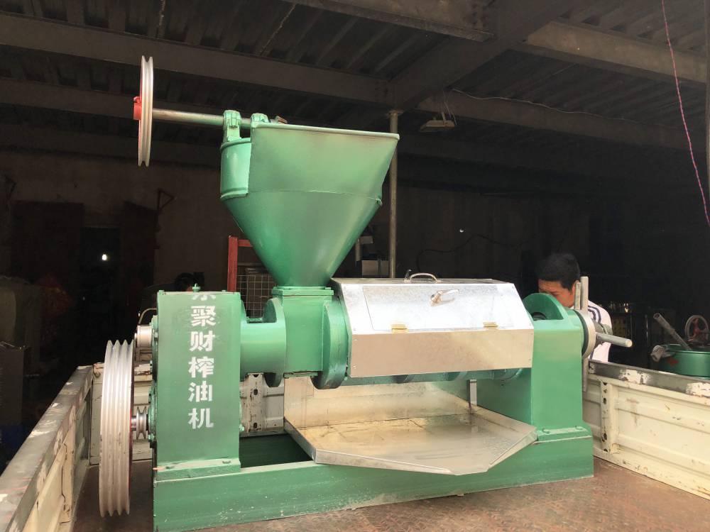 河北全自动智能螺旋式榨油机 高阳商用芝麻榨油机生产线批发