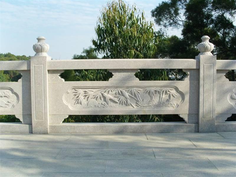 升旗台石雕围栏大桥石头栏杆栏板定做厂家报价