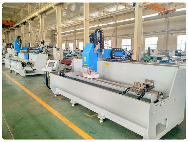 山东明美数控机械有限公司 铝型材3+1轴数控钻铣床