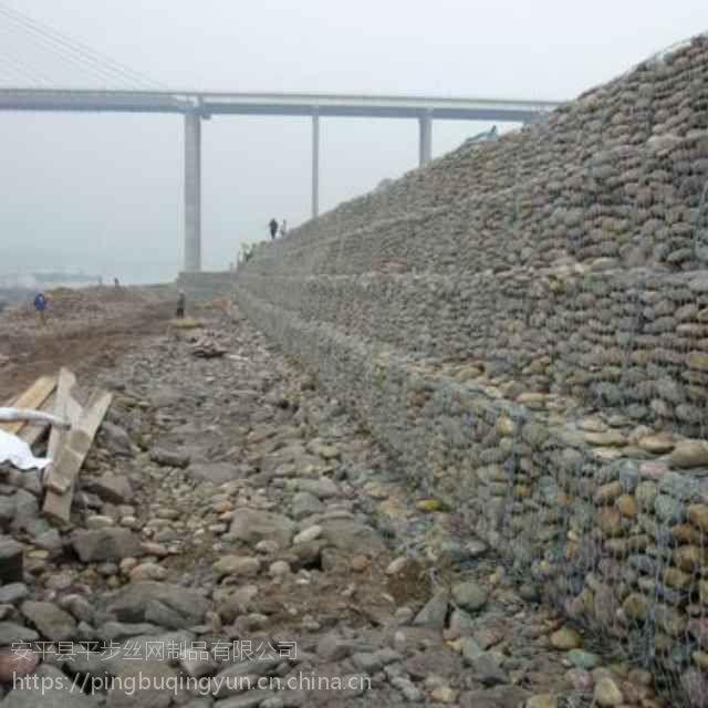 生态石笼网图纸#河道两侧护岸绿格网箱