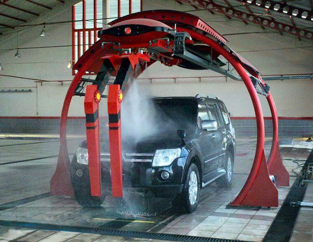 杭州佩德卡全自动洗车机佩德卡急速J30双臂环绕洗车