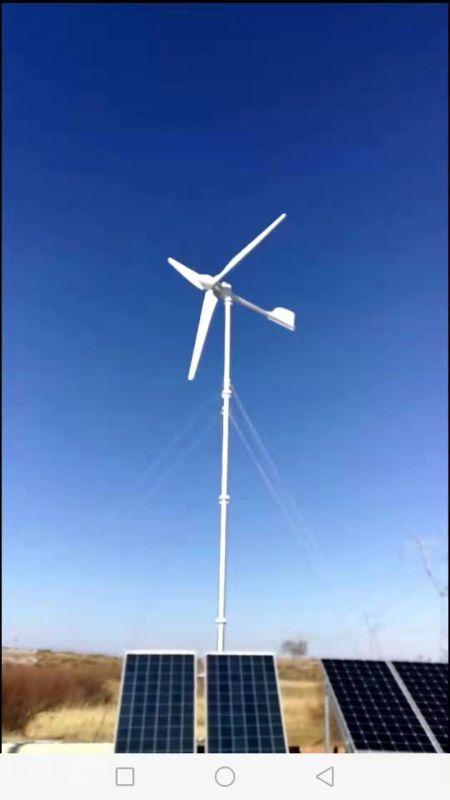 微风启动风力发电机 2千瓦交流转子发电机图片视频