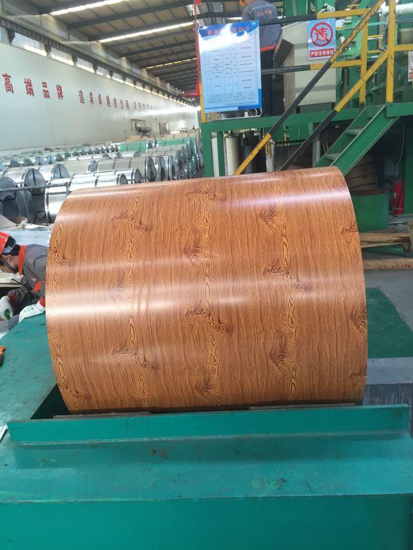 山东汇中新材料有限公司彩铝板木纹覆膜