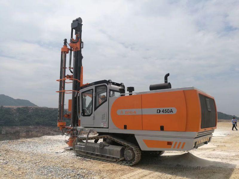 志高掘進廣西一體鉆機D450A礦山開采鉆孔