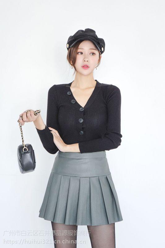 宝贝玛丽杭州裤子尾货批发市场 山东女装品牌折扣批发尾货银色卫衣绒衫