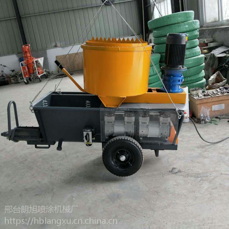 河北邢台朗旭喷涂机械厂,专供850全自动多功能水泥砂浆、石膏 、腻子喷涂机,操作简单,省时省力