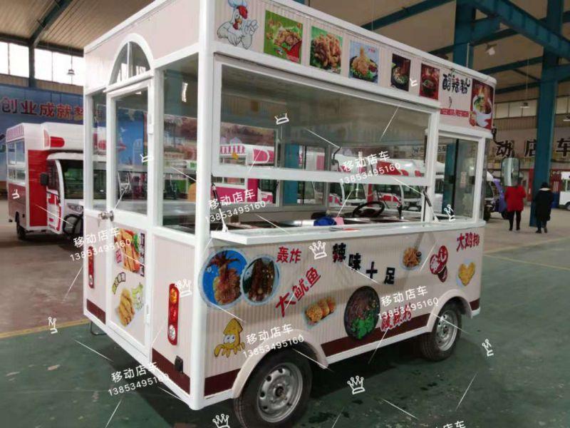 移动餐车,小吃车环保卫生.冬暖夏凉高端大气