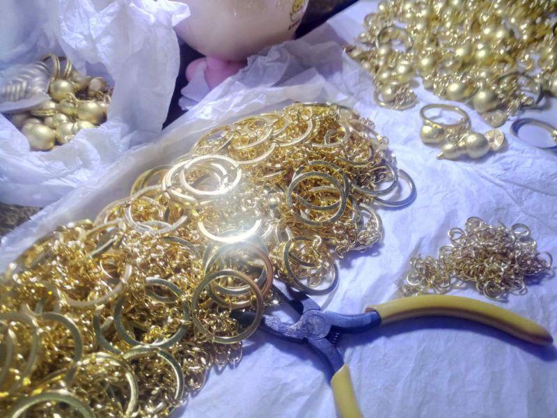 金属立体葫芦、元宝、金钱钥匙扣挂件定制厂家