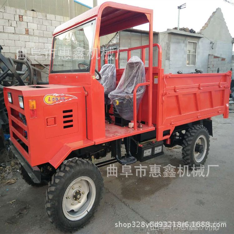 山西供应工程四轮车 轻松操作方向盘四轮车 3吨高效农用四不像