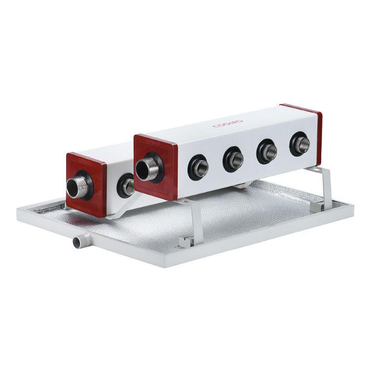 科斯曼空调水利分配器左右接调换视频