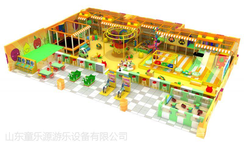 金乡儿童淘气堡厂家 室内游乐设备加盟 亲子乐园活动