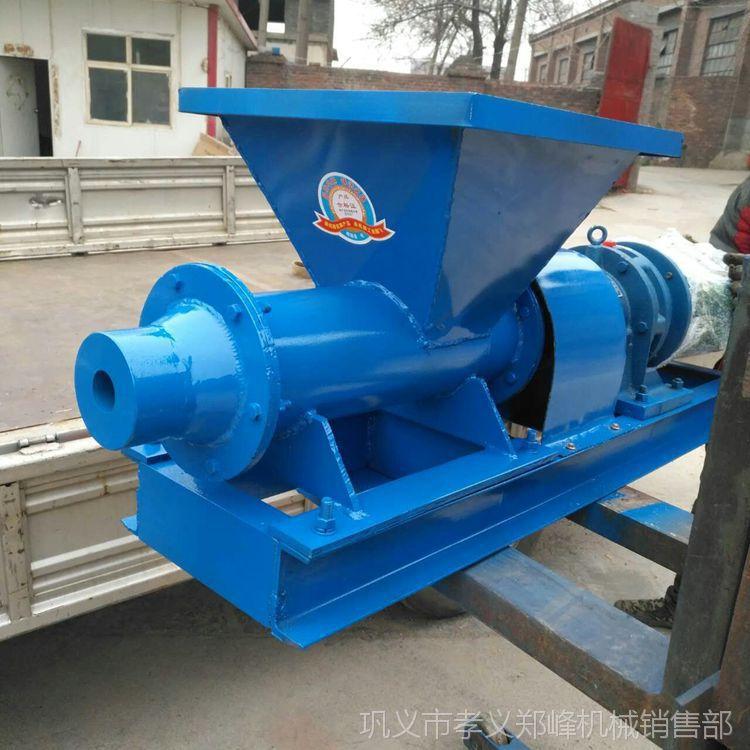 郑峰泥条挤出机 小型炮泥机 矿用炮泥专用机