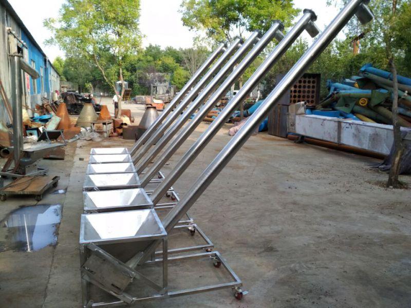 螺旋提升机图片价格量身定做螺旋提升机直销 环保螺旋输送机扬州